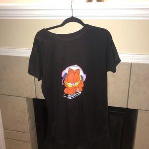 Garfield Pajama Shirt Dress